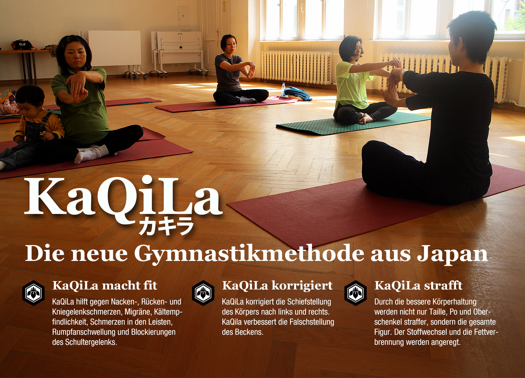 KaQiLa - japanische Gymnastik
