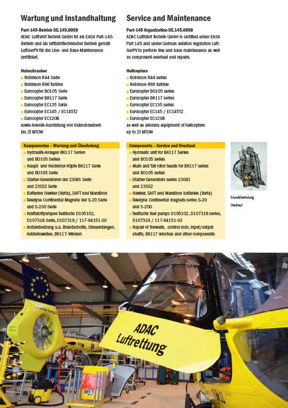 ADAC Luftfahrt Technik Pyro Design Berlin