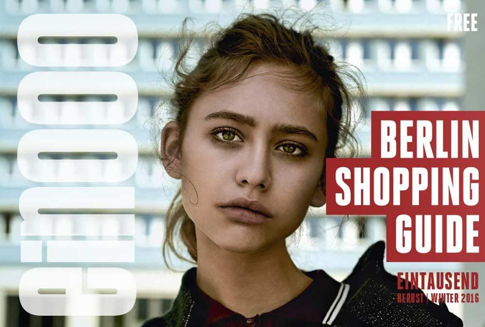 Die 36. Ausgabe vom ein000 – Shopping Guide