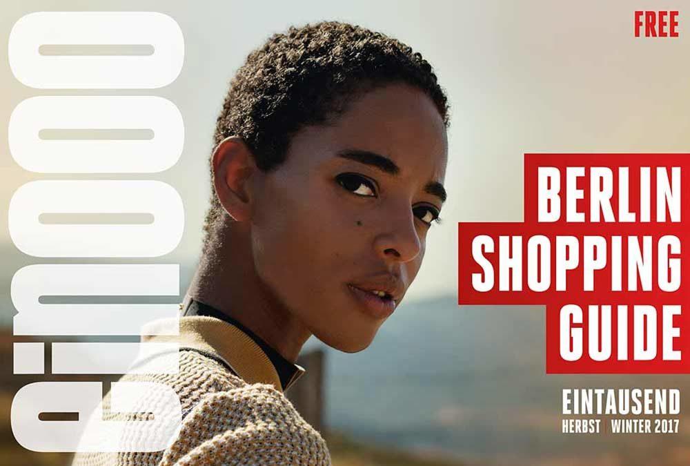 Die 38. Ausgabe vom ein000 – Shopping Guide