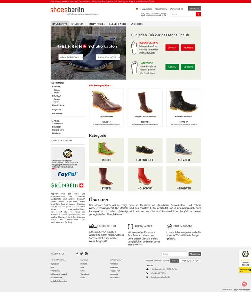 Shoes Berlin Pyro Design