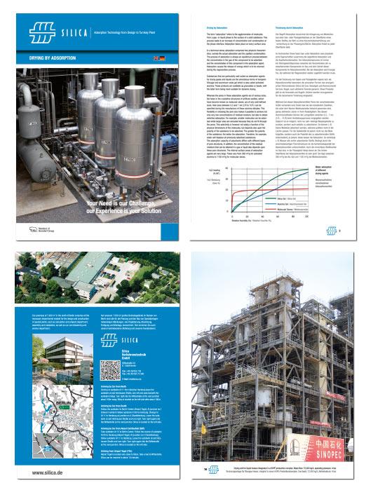 Silica Verfahrenstechnik GmbH Redesign Pyro Design BErlin
