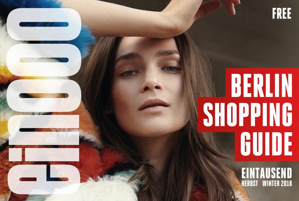 Die 40. Ausgabe vom ein000 Shopping Guide