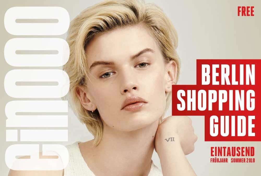 Die 39. Ausgabe vom ein000 – Shopping Guide