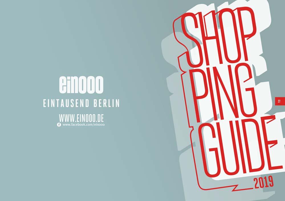 Die 41. Ausgabe vom ein000 Shopping Guide