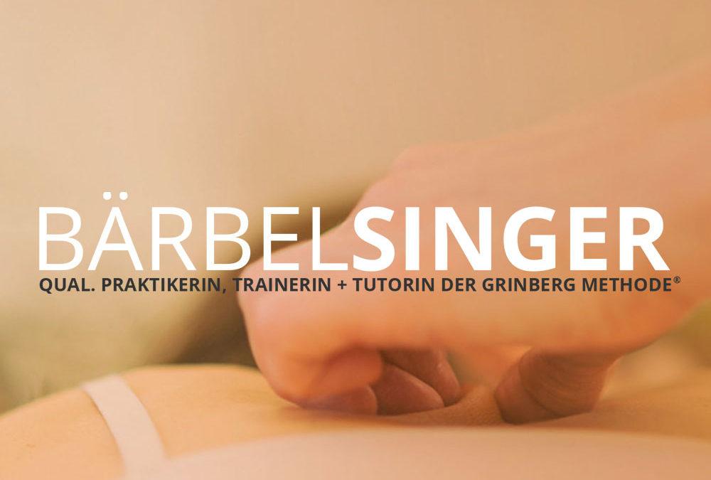 Relaunch BÄRBEL SINGER - Praktikerin der Grinberg Methode