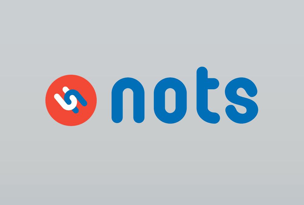 Logoentwicklung und UI-Programmierung für APP-Studie NOTS